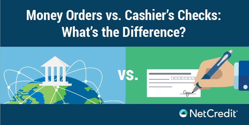 Money Orders vs. Cashier's Checks: What's the Difference?