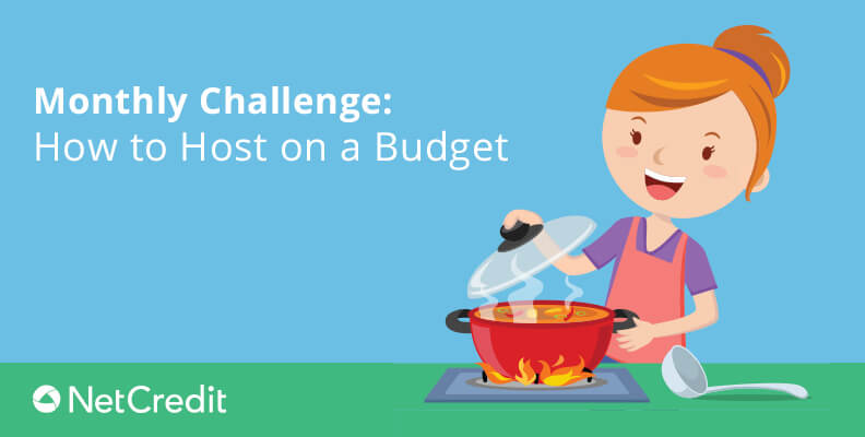 Monthly Challenge: How to Host on a Budget