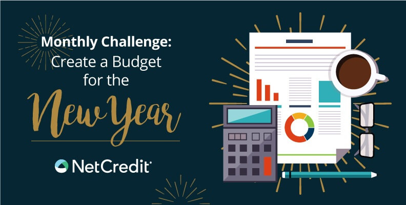 Monthly Challenge: Create a Budget for the New Year