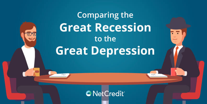 Comparing the Great Recession of 2008 with the Great Depression