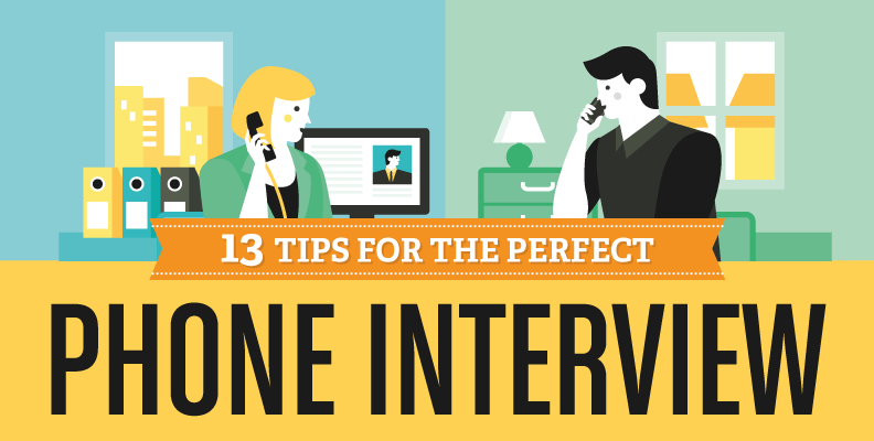 13 Tips for the Perfect Phone Interview Header Image