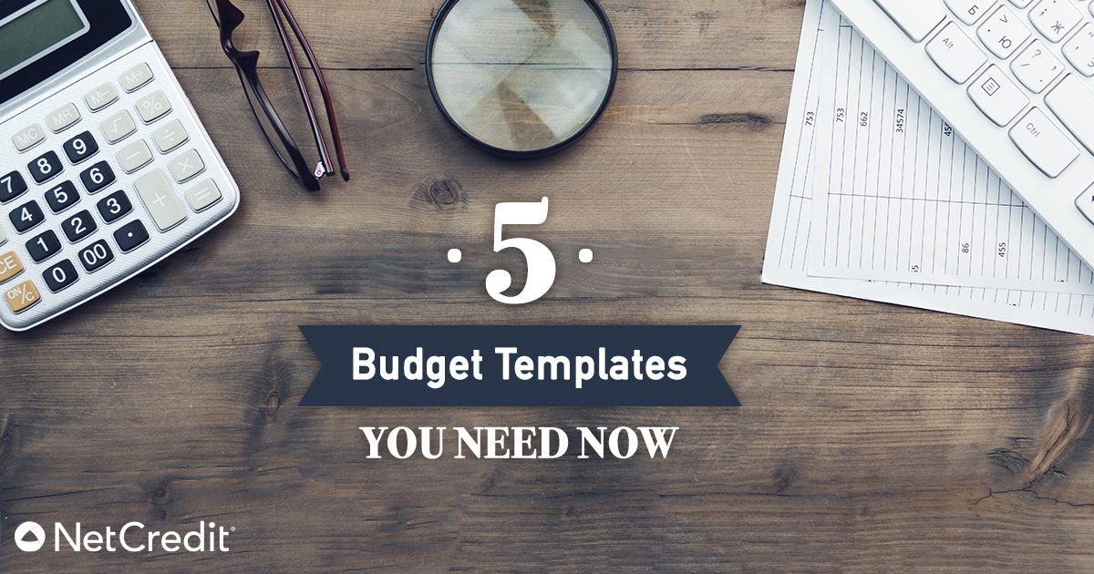 5 Free, Simple, Personal Monthly Budget Templates