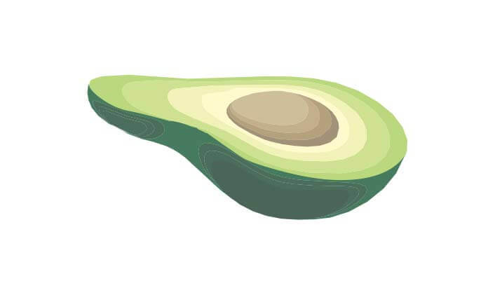 Avocado Shell Salad