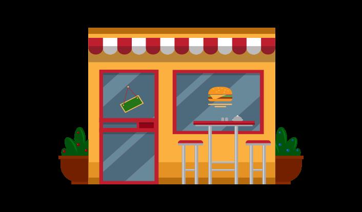 Check your favorite restaurants on social media