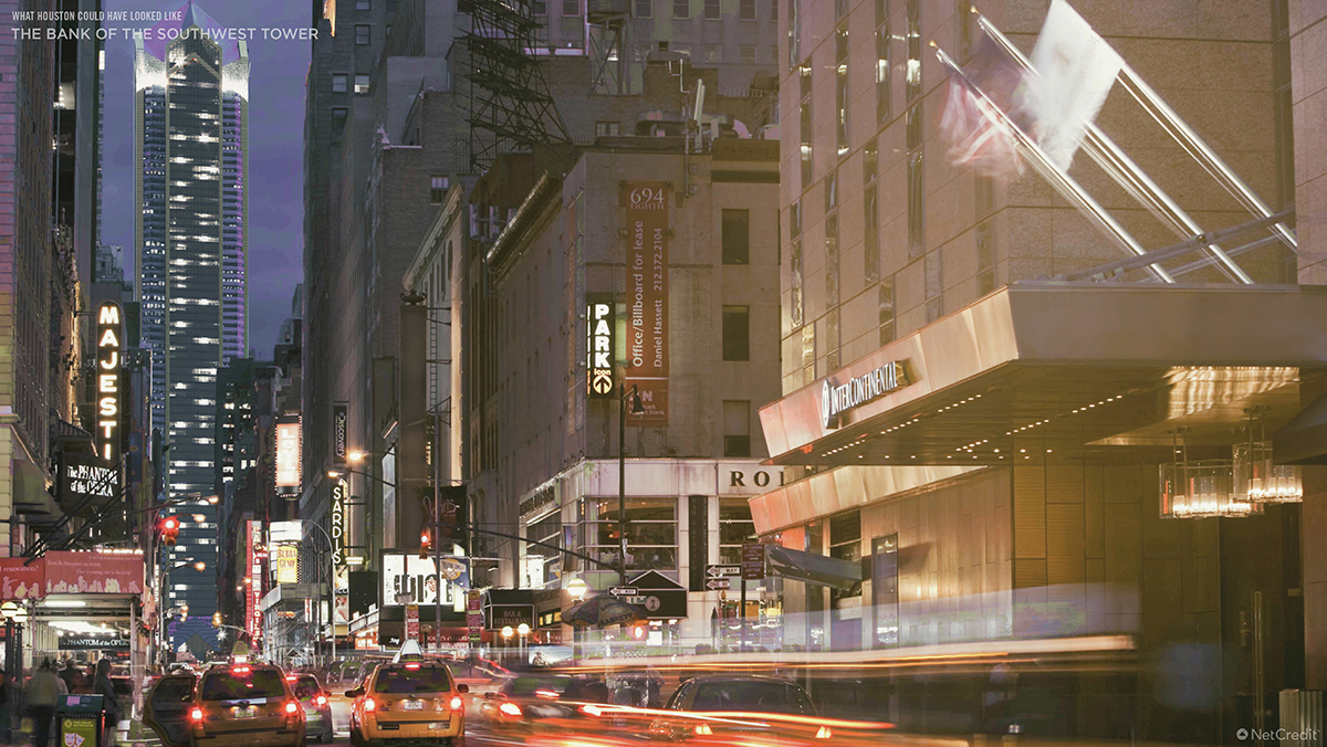 What US Cities Could Have Looked Like Houston Pedestrian View