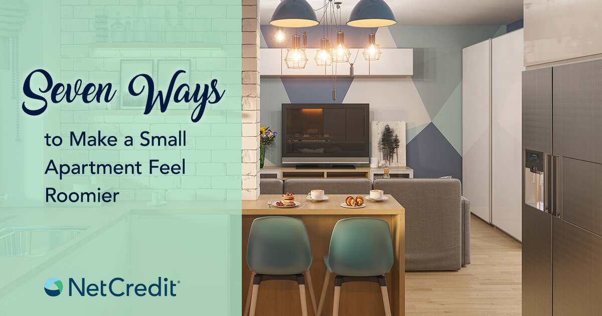 Affordable Tricks to Make a Tiny Apartment Look Bigger