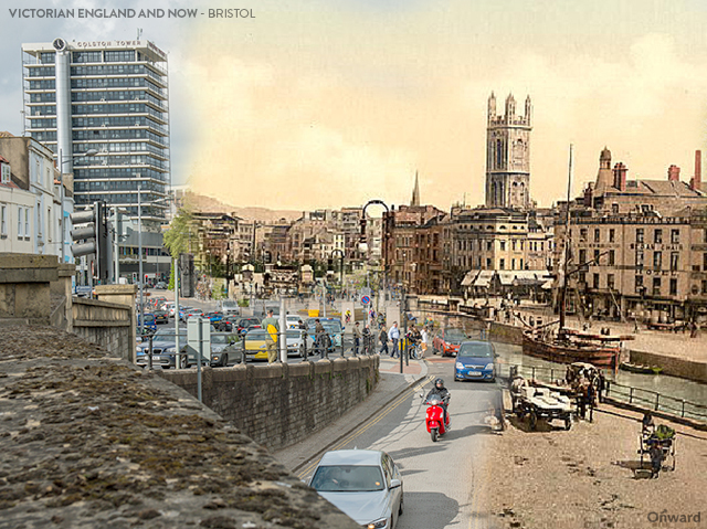 Then and Now Bristol