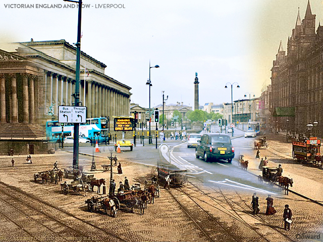 Then and Now Liverpool