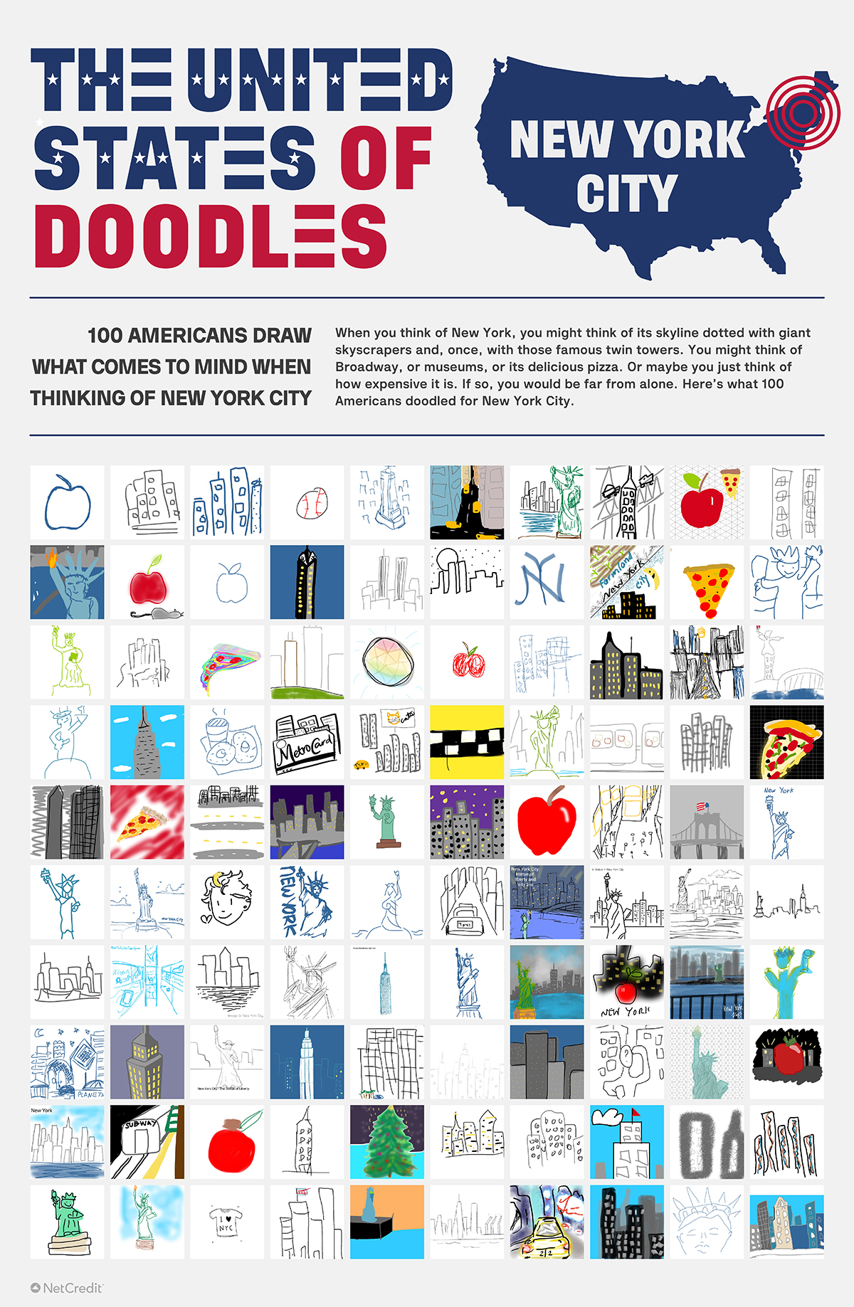 United States of Doodles New York City