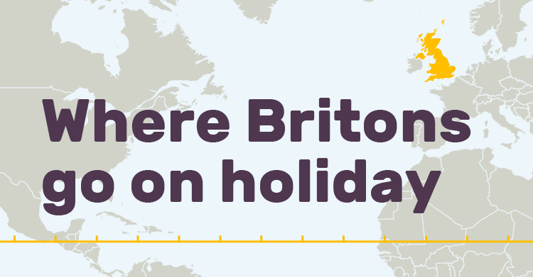 Where Britons Go on Holiday