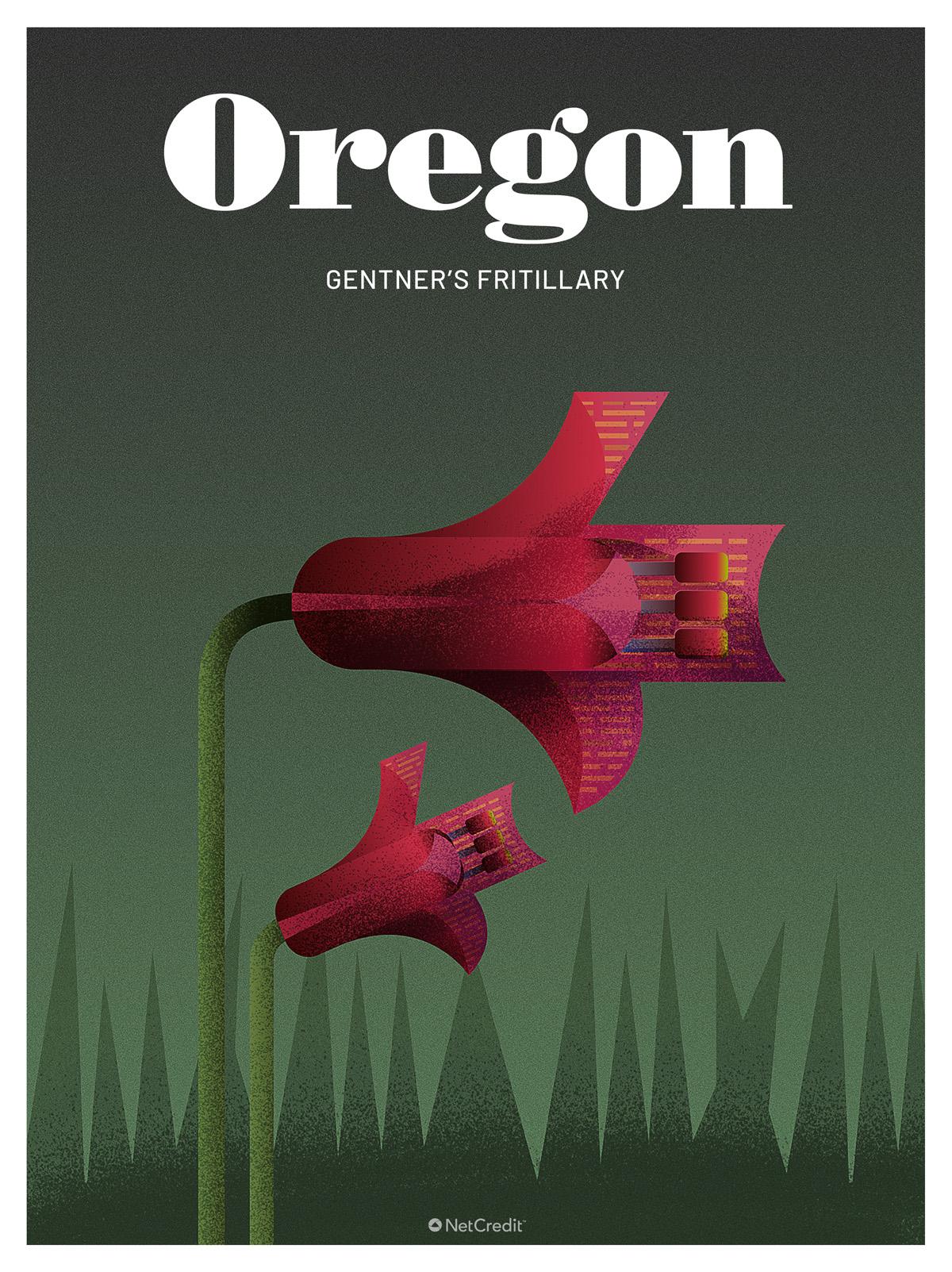 Endangered Plant in Oregon: Gentner's Fritillary
