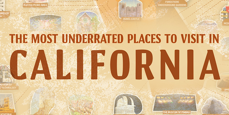 The Most Underrated Places to Visit in California