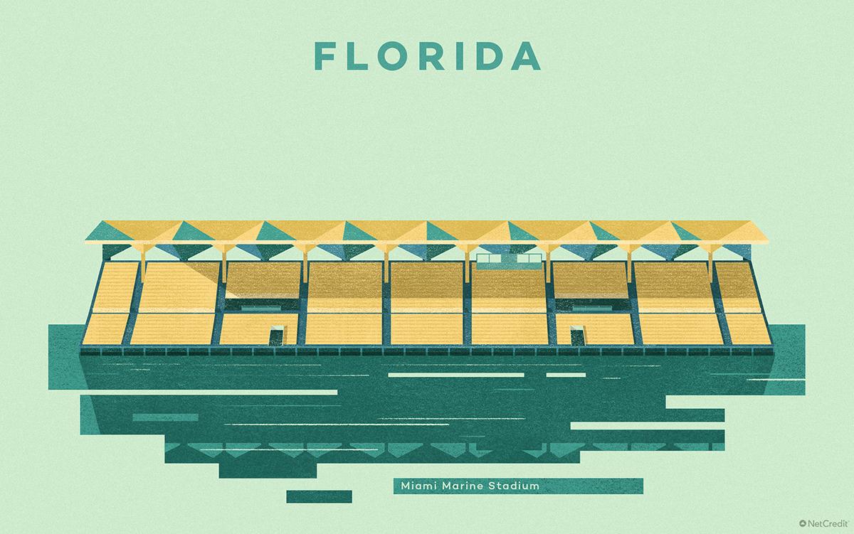 Florida Miami Marine Stadium