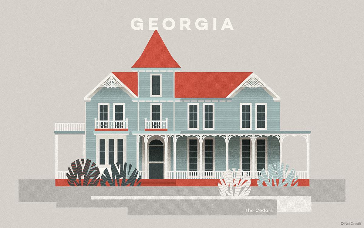 Georgia The Cedars