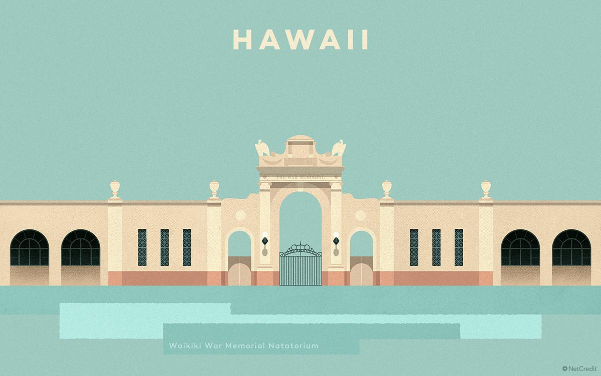 Hawaii Waikīkī War Memorial Natatorium