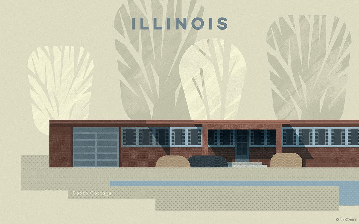 Illinois Booth Cottage