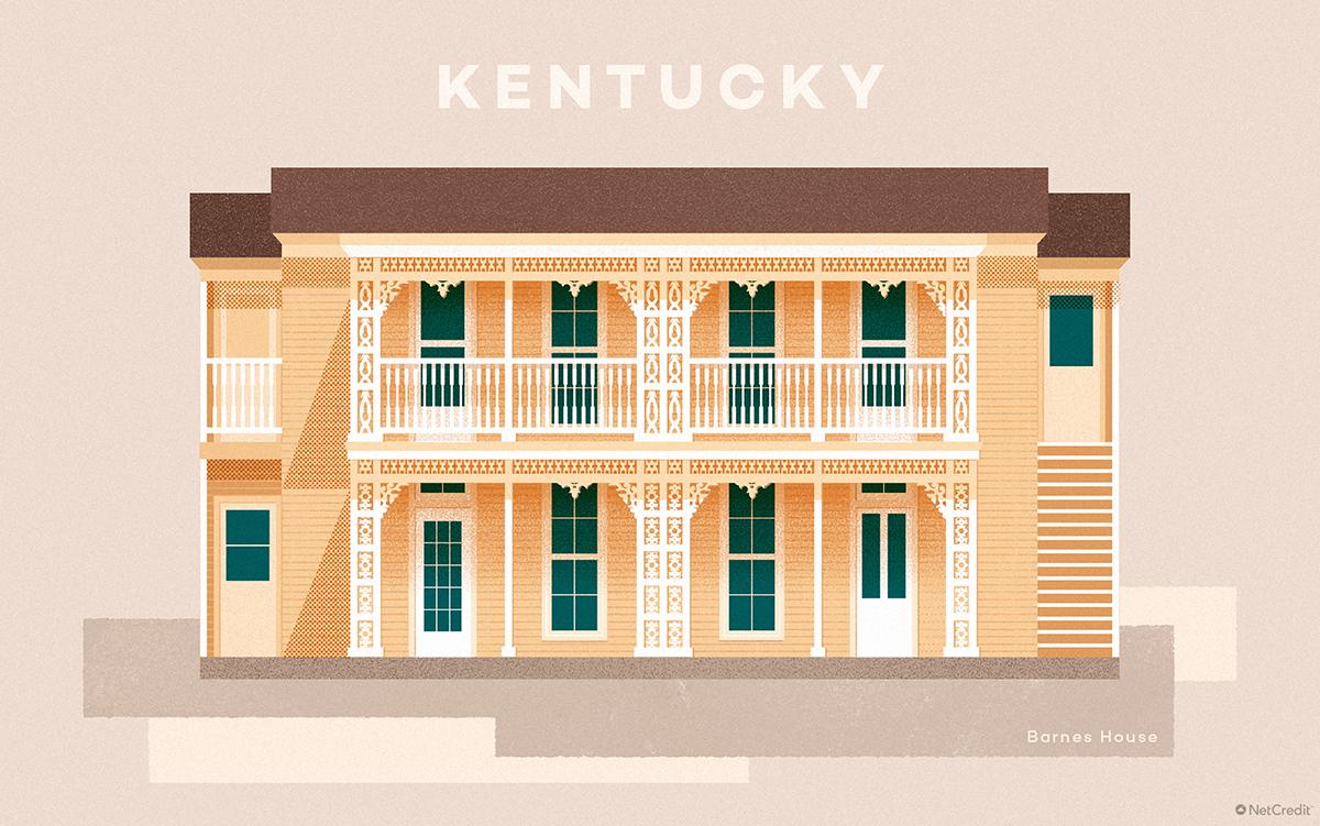 Kentucky Barnes House
