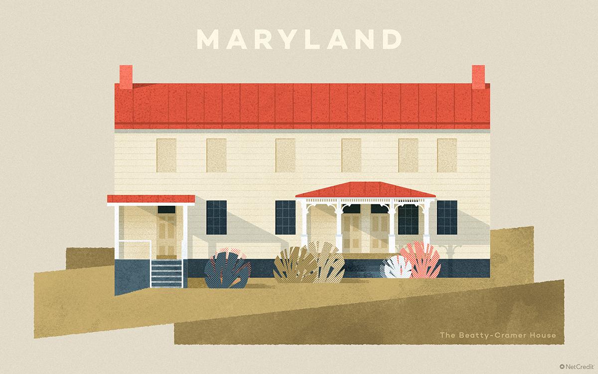 Maryland The Beatty-Cramer House