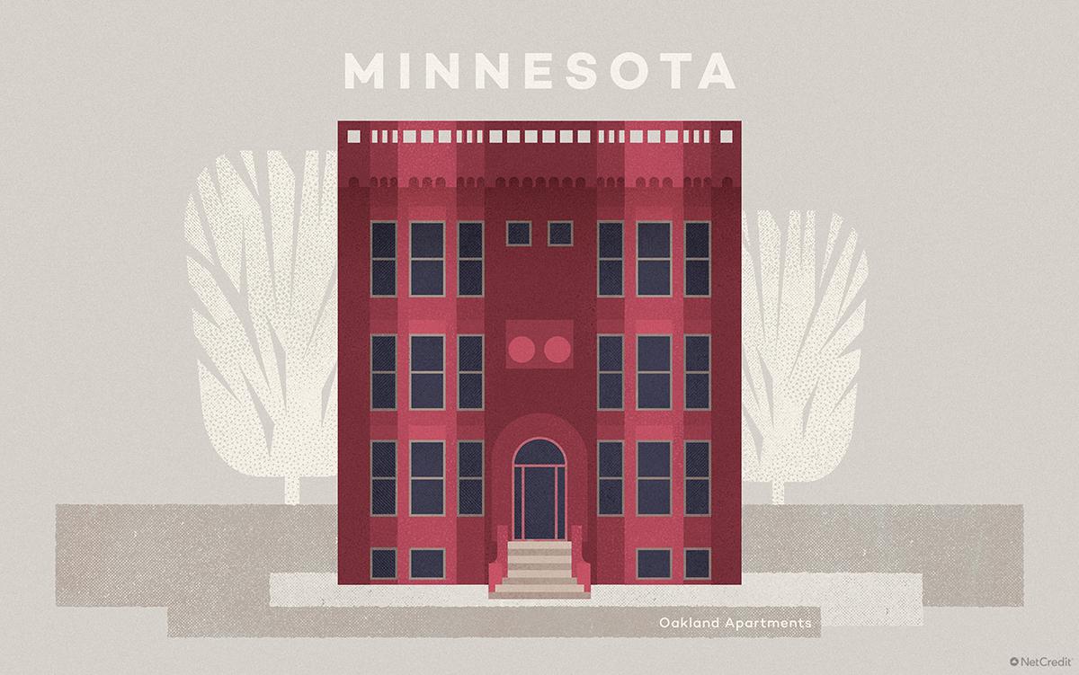 Minnesota Oakland Apartments