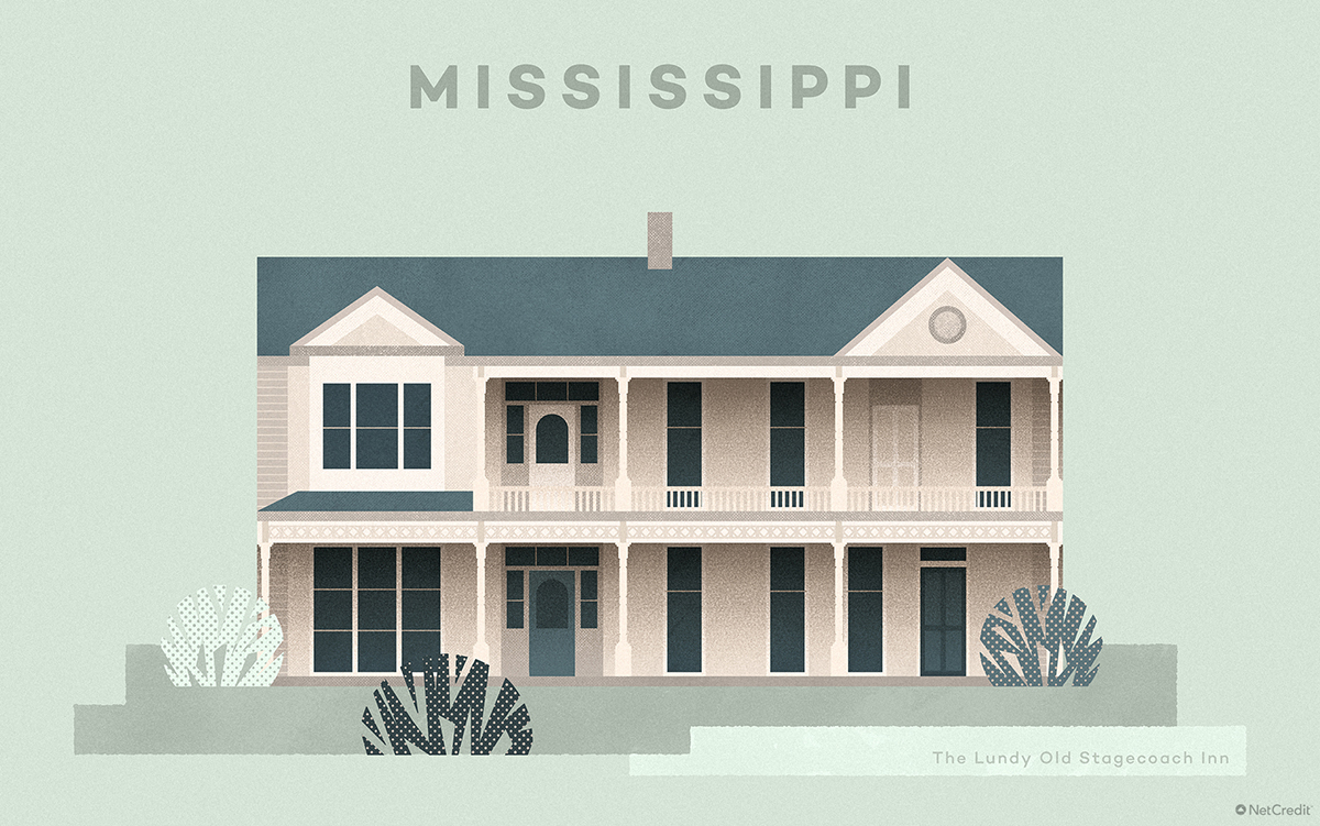 Mississippi The Lundy Old Stagecoach Inn