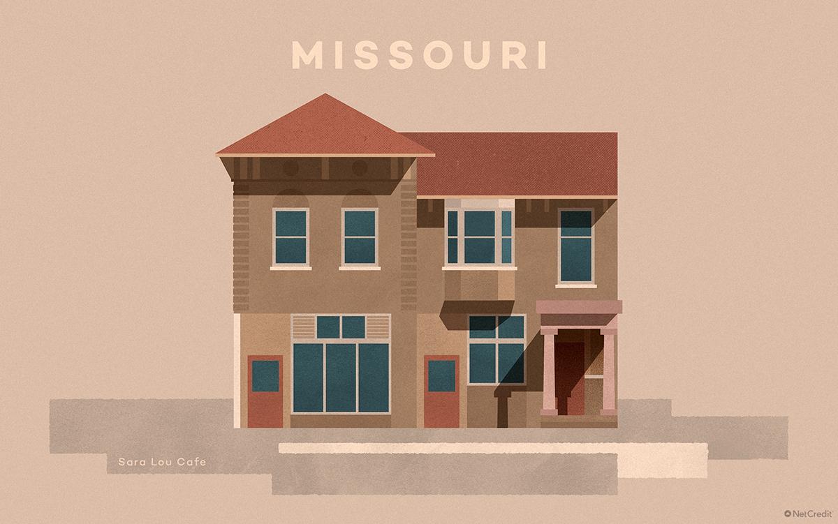 Missouri Sara Lou Café