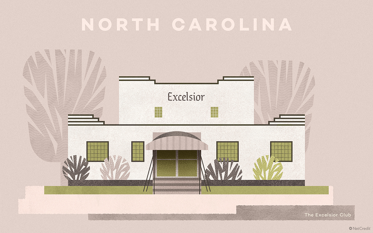 North Carolina The Excelsior Club