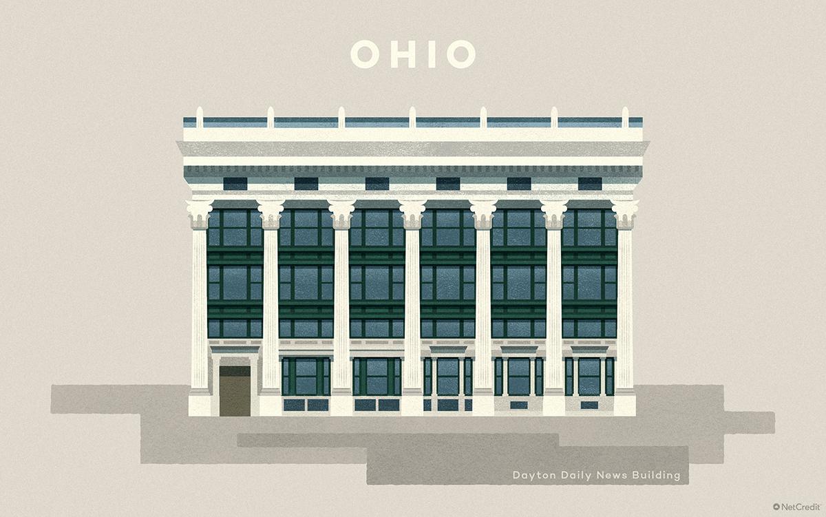 Ohio Dayton Daily News Building