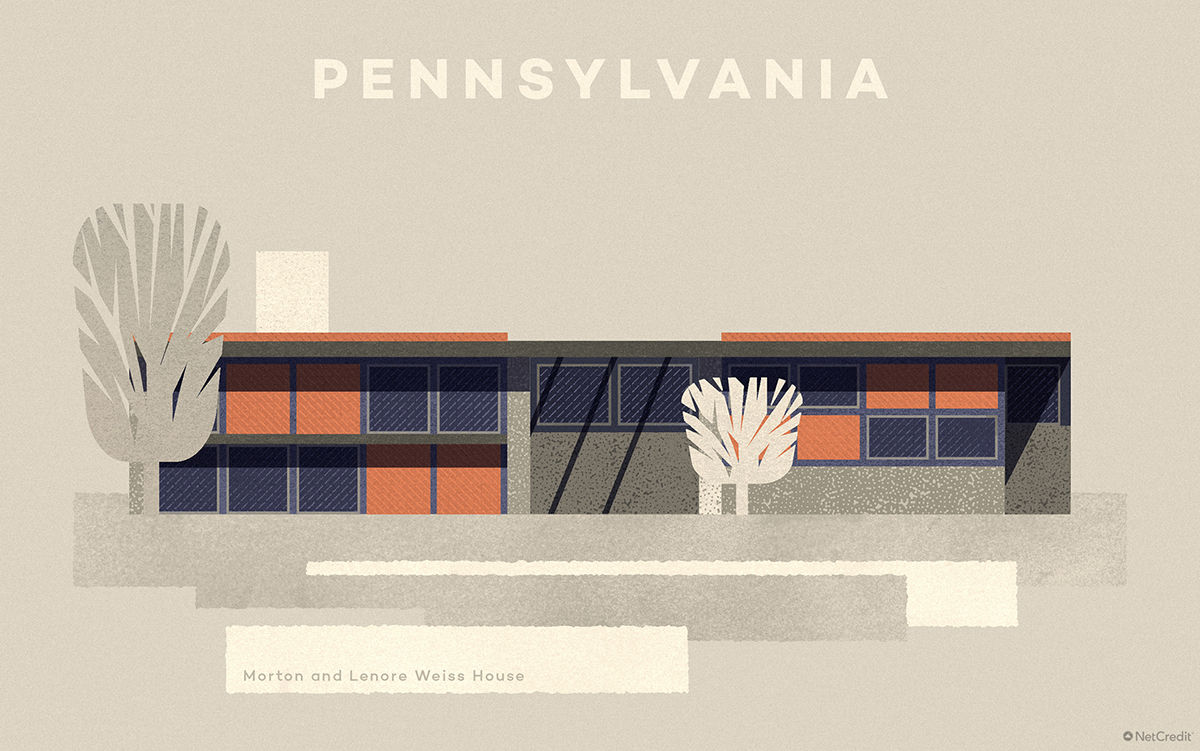 Pennsylvania Morton and Lenore Weiss House