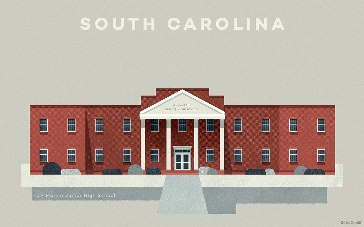 South Carolina JV Martin Junior High School