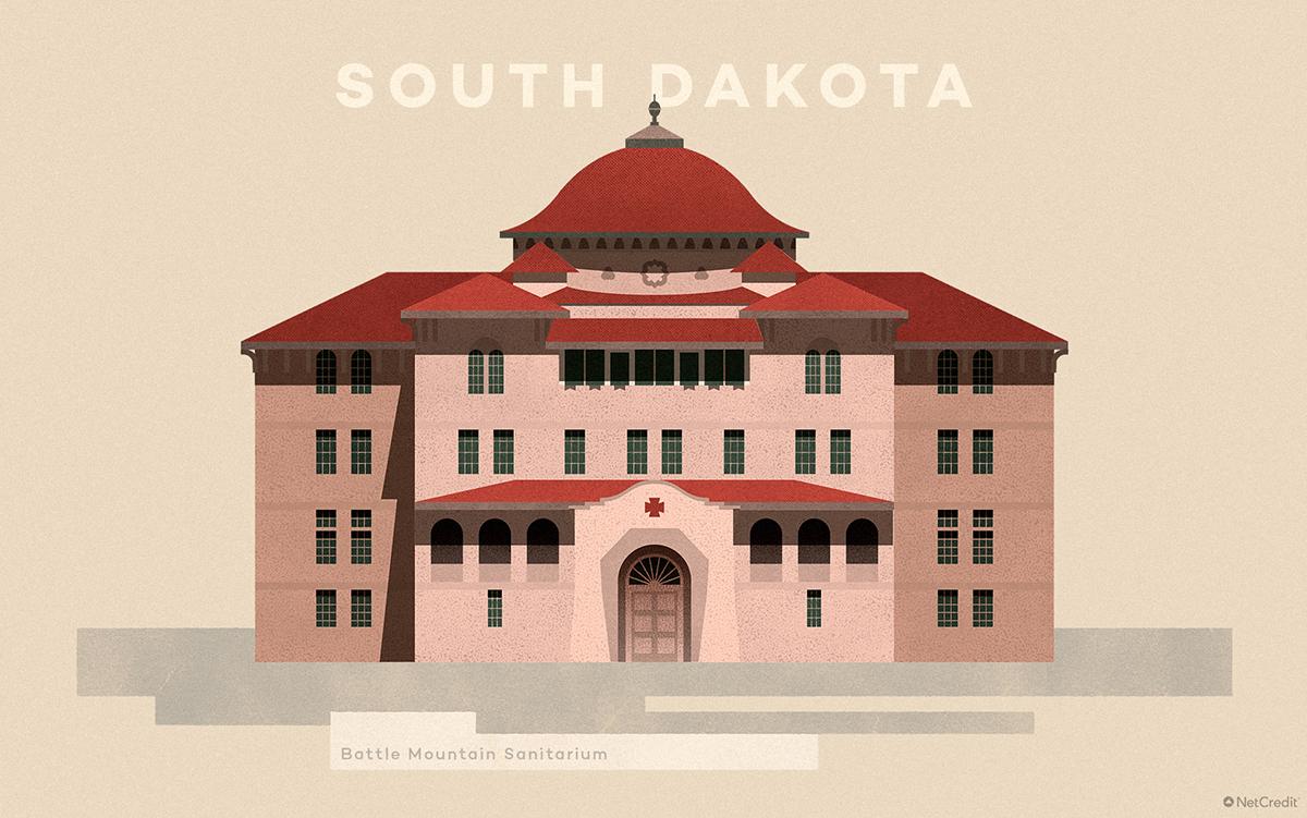 South Dakota Battle Mountain Sanitarium