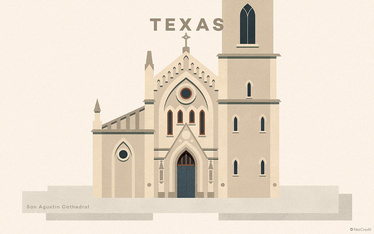Texas San Agustin Cathedral