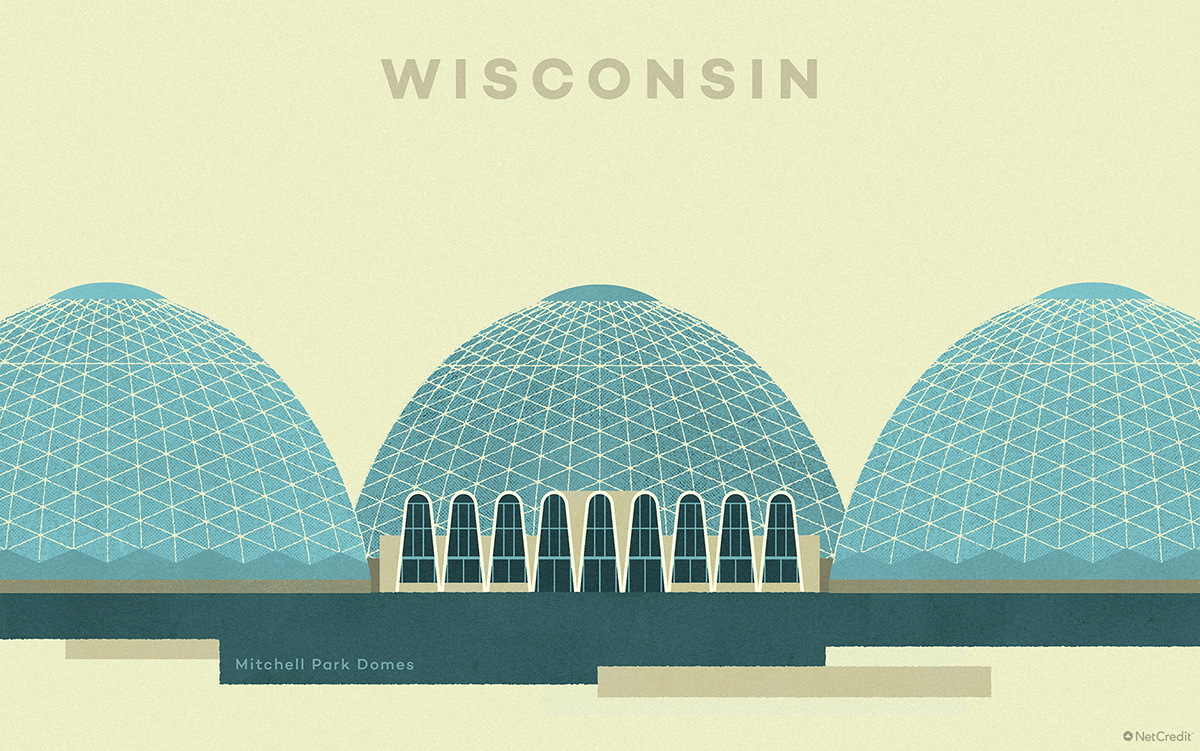 Wisconsin Mitchell Park Domes