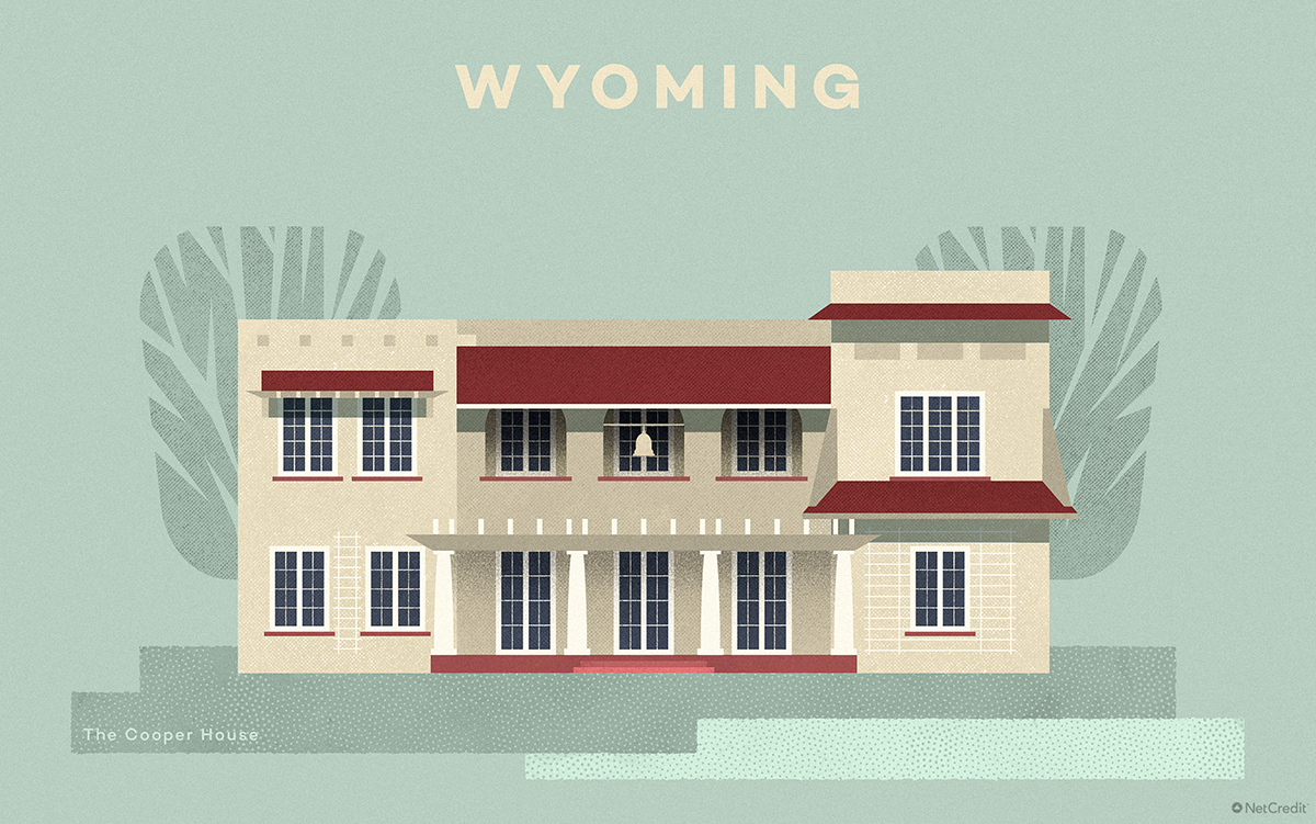 Wyoming The Cooper House
