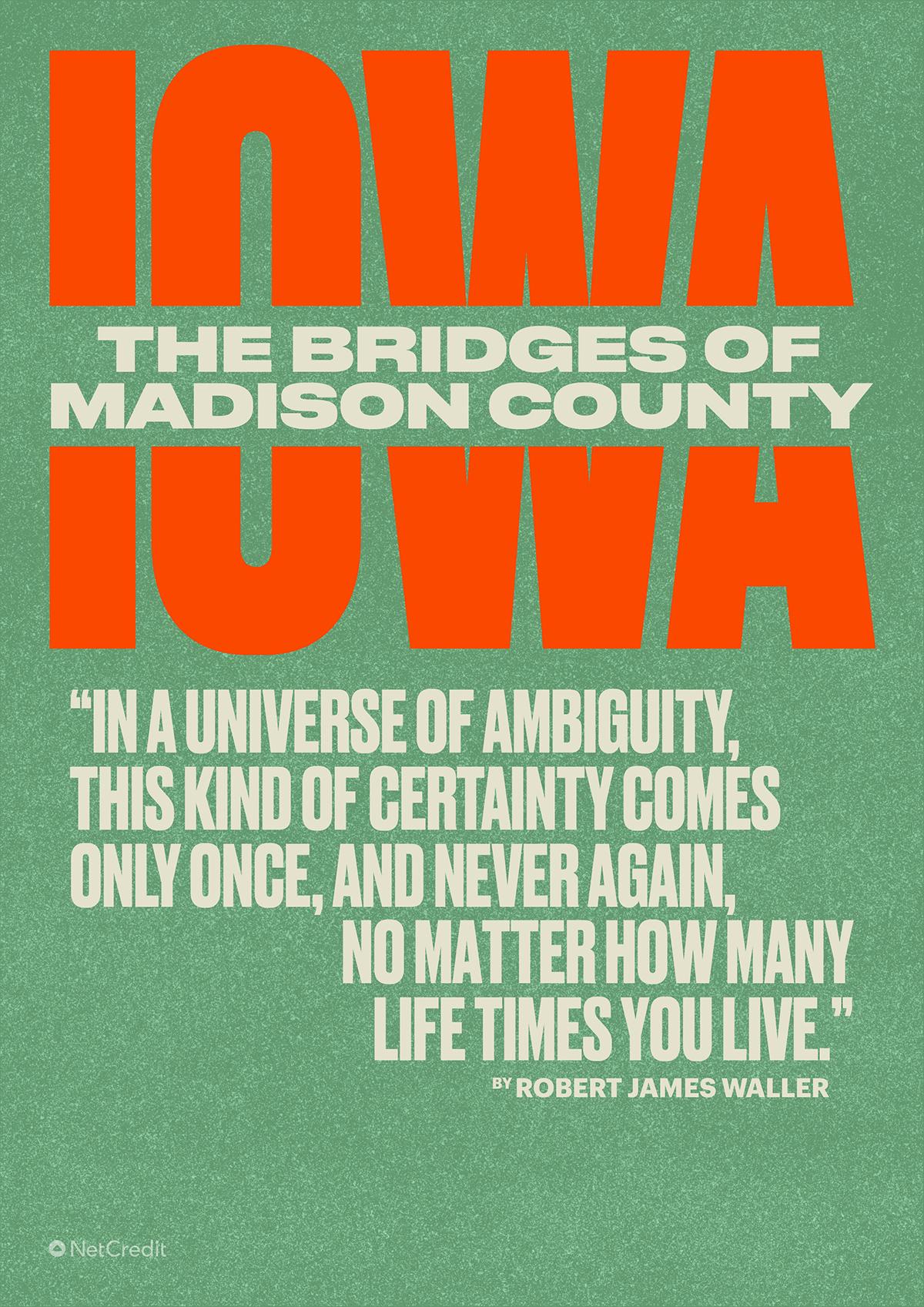 The Bridges of Madison County Iowa