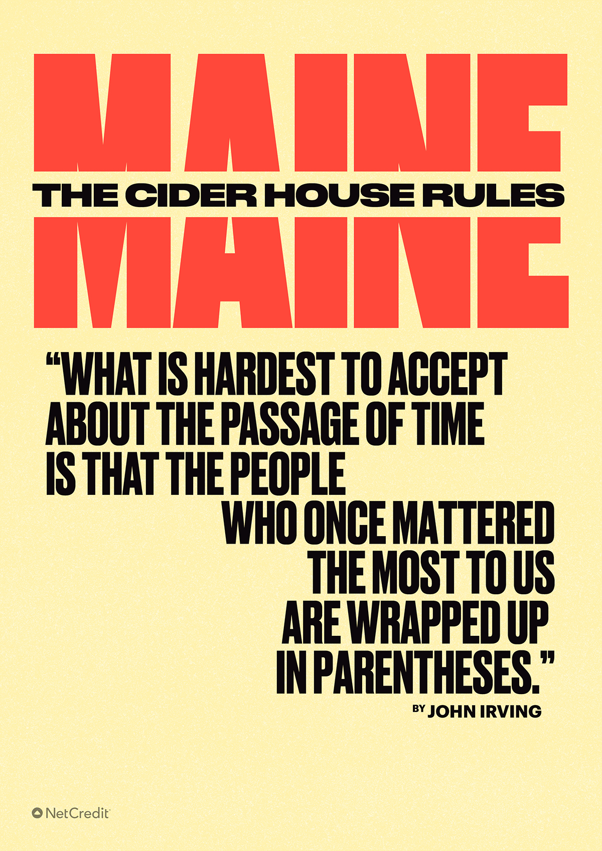 Cider House Rules Maine