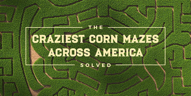 Solve America's Toughest Corn Mazes Without Leaving Your House