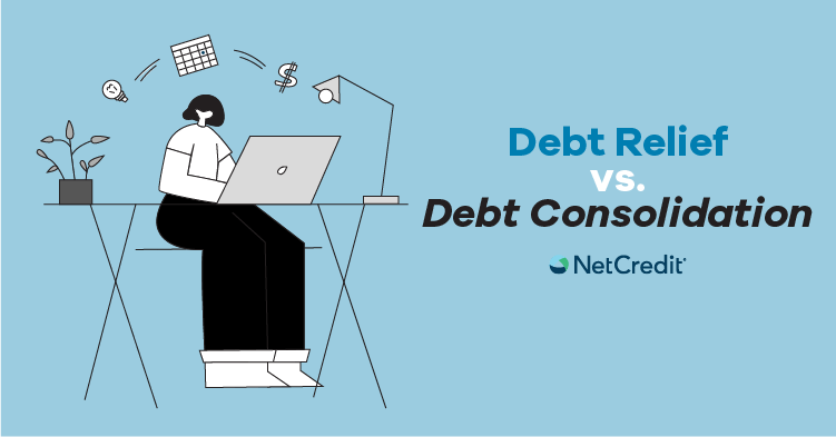 What's the Difference Between Debt Relief and Debt Consolidation?