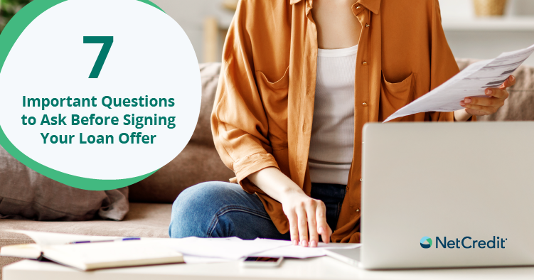 What Should I Look For in My Loan Offer?