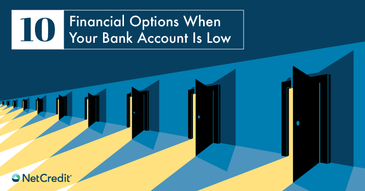 What Options Do I Have When My Bank Account Is Low?