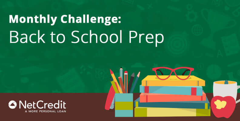 Monthly Challenge: Back to School Prep